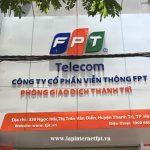 Văn Phòng Giao Dịch FPT Huyện Thanh Trì Tại Đội 1 Lạc Thị Ngọc Hồi