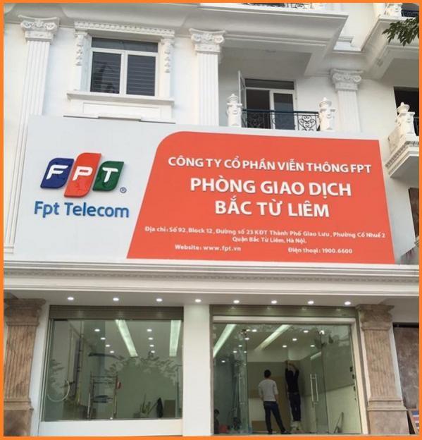 Địa điểm chi nhánh phòng giao dịch FPT Bắc Từ Liêm cho khách hàng