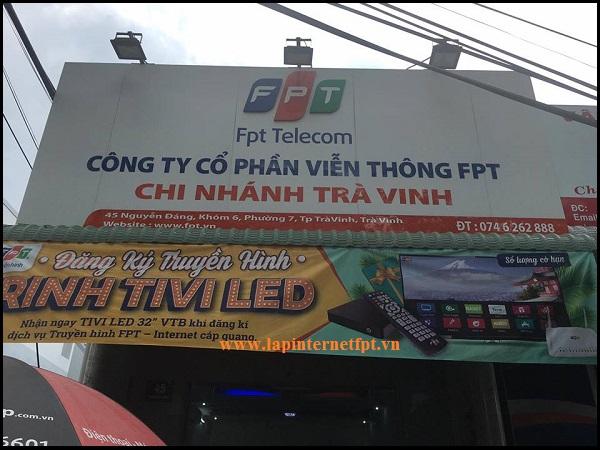 Công Ty Cổ Phần Viễn Thông FPT - Chi nhánh Trà Vinh