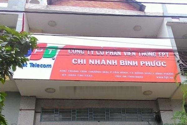 Văn Phòng FPT Thị Xã Đồng Xoài