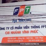 Văn Phòng Giao Dịch FPT Vĩnh Yên Tại 18 Nguyễn Trãi