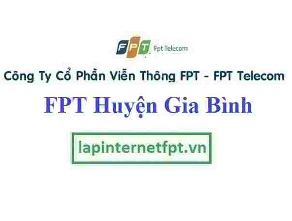 Lắp Đặt Mạng FPT Huyện Gia Bình Tỉnh Bắc Ninh