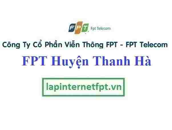 Lắp Đặt Mạng FPT Huyện Thanh Hà Tỉnh Hải Dương
