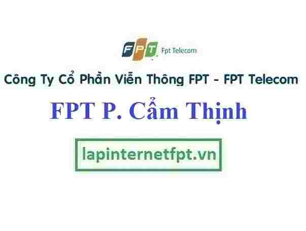 Lắp Đặt Mạng FPT Phường Cẩm Thịnh Thành Phố Cẩm Phả