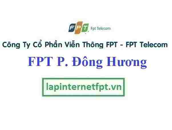 Lắp Đặt Mạng FPT Phường Đông Hương Thành Phố Thanh Hóa