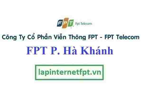 Lắp Đặt Mạng FPT Phường Hà Khánh Thành Phố Hạ Long