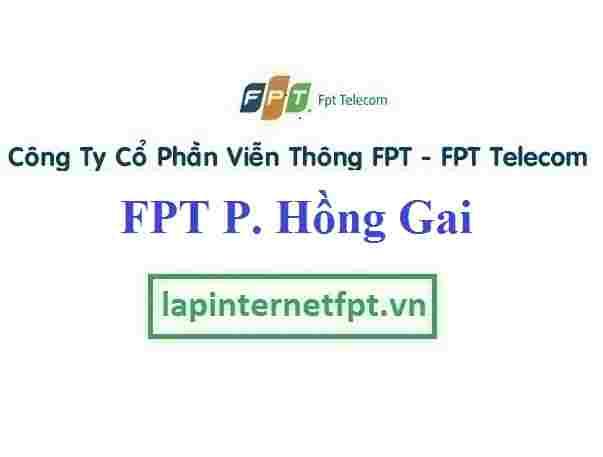 Lắp Đặt Mạng FPT Phường Hồng Gai Thành Phố Hạ Long