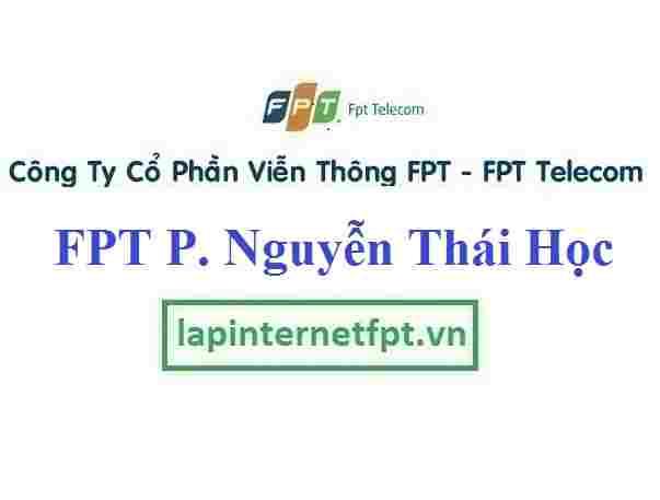 Lắp Đặt Cáp Quang FPT Phường Nguyễn Thái Học Thành Phố Yên Bái