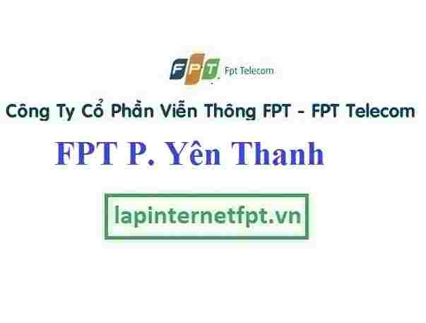 Đăng ký cáp quang FPT Phường Yên Thanh