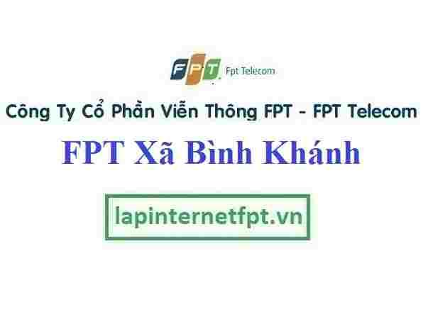 Lắp Đặt Mạng FPT Xã Bình Khánh Tại Cần Giờ TPHCM