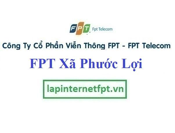 Đăng ký cáp quang FPT Xã Phước Lợi
