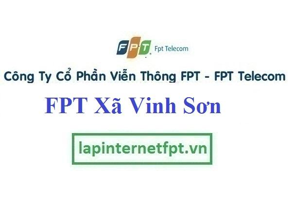 Đăng ký cáp quang FPT Xã Vinh Sơn
