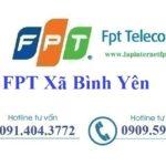Lắp đặt mạng FPT xã Bình Yên