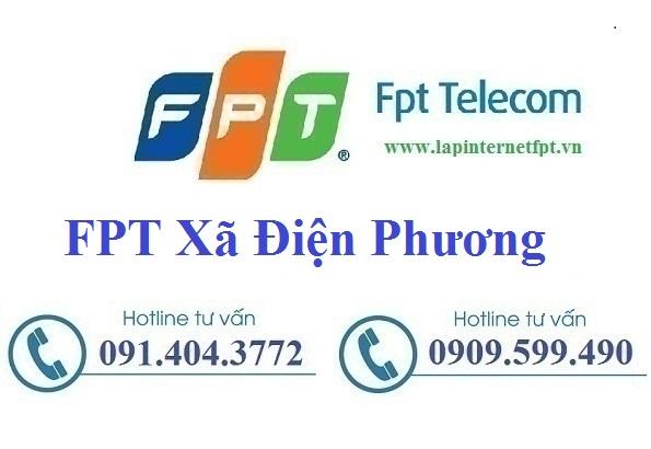 Đăng ký cáp quang FPT xã Điện Phương