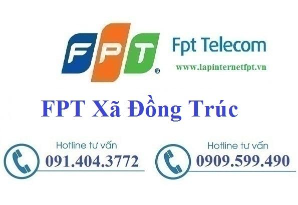 Đăng ký cáp quang FPT xã Đồng Trúc
