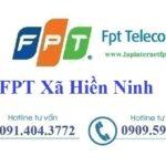Lắp Đặt Mạng FPT Xã Hiền Ninh