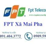 Lắp Đặt Internet FPT Xã Mai Pha Thành Phố Lạng Sơn