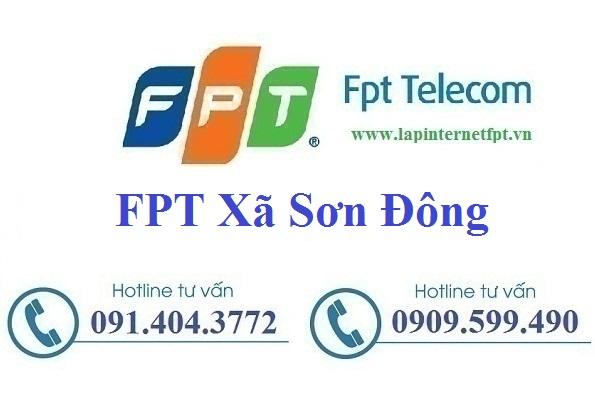 Đăng ký cáp quang FPT xã Sơn Đông