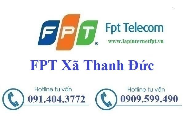 Đăng ký cáp quang FPT xã Thanh Đức