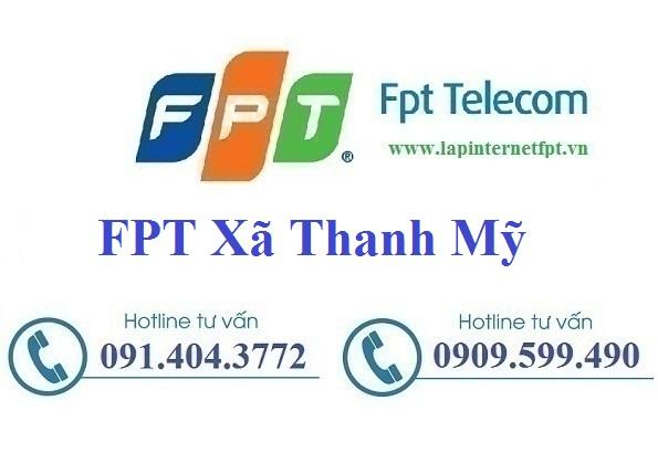 Đăng ký cáp quang FPT xã Thanh Mỹ