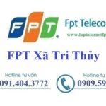 Lắp Đặt Mạng FPT ở Xã Tri Thủy