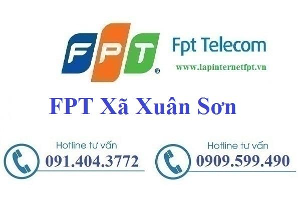 Đăng ký cáp quang FPT xã Xuân Sơn