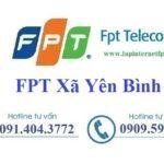 Lắp Đặt Mạng FPT Xã Yên Bình