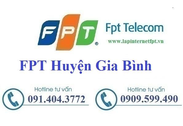 Đăng ký cáp quang FPT Huyện Gia Bình