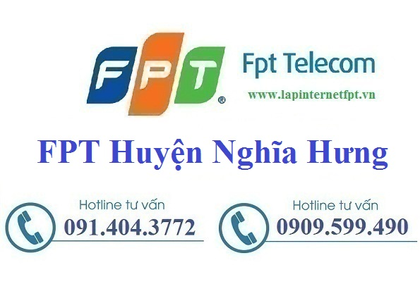 Đăng ký cáp quang FPT Huyện Nghĩa Hưng