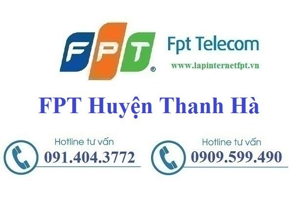 Đăng ký cáp quang FPT Huyện Thanh Hà