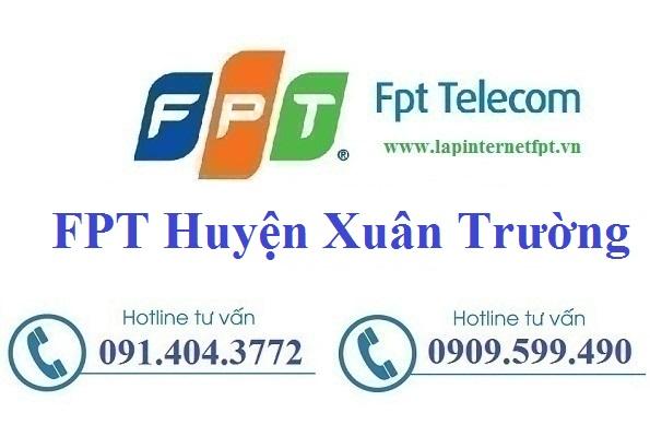 Đăng ký cáp quang FPT Huyện Xuân Trường