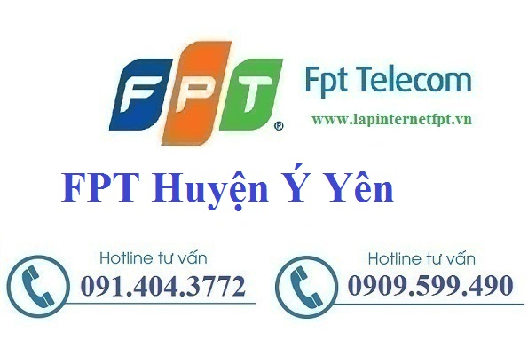 Đăng ký cáp quang FPT Huyện Ý Yên