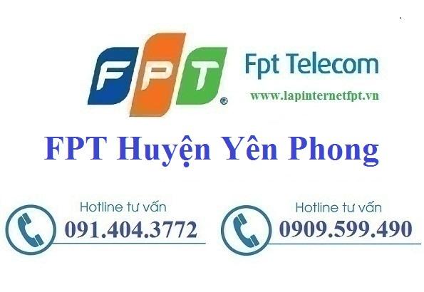 Đăng ký cáp quang FPT Huyện Yên Phong