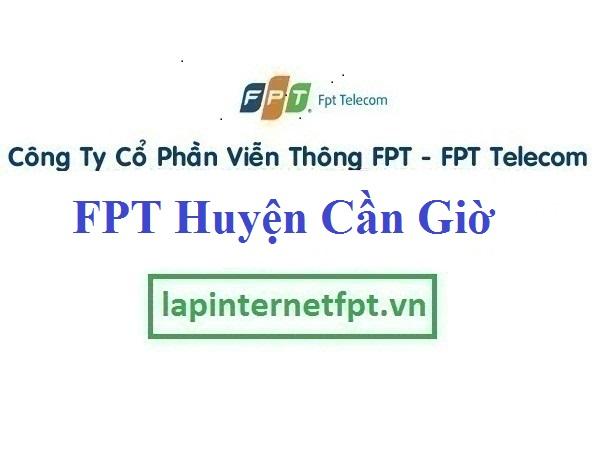 Lắp Đặt Mạng FPT Huyện Cần Giờ TPHCM