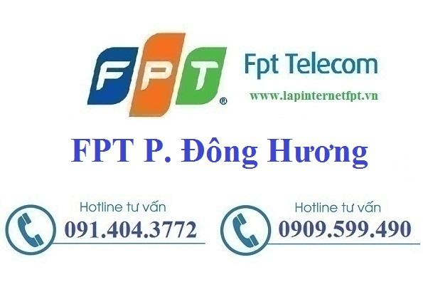 Đăng ký cáp quang FPT Phường Đông Hương
