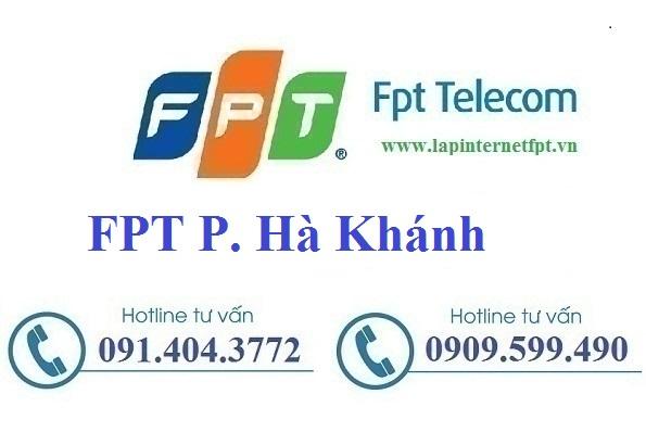 Đăng ký cáp quang FPT Phường Hà Khánh