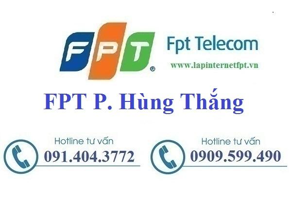 Đăng ký cáp quang FPT Phường Hùng Thắng