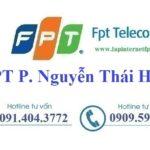 Lắp internet fpt phường Nguyễn Thái Học tại Tp. Yên Bái