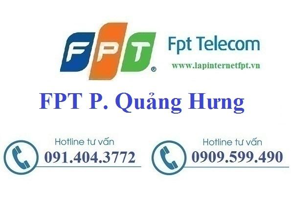 Đăng ký cáp quang FPT Phường Quảng Hưng