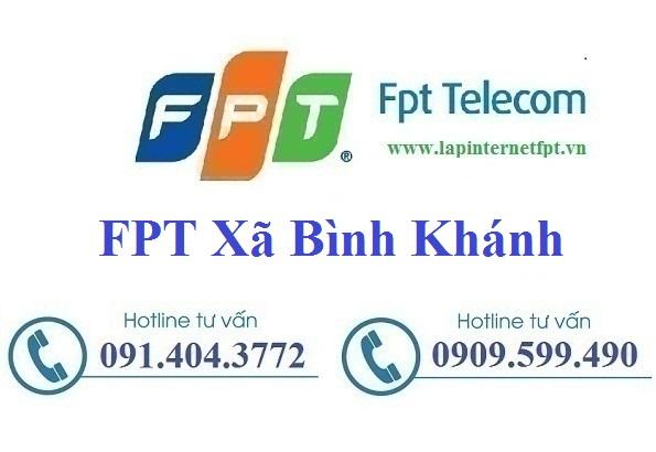 Đăng ký cáp quang FPT Xã Bình Khánh