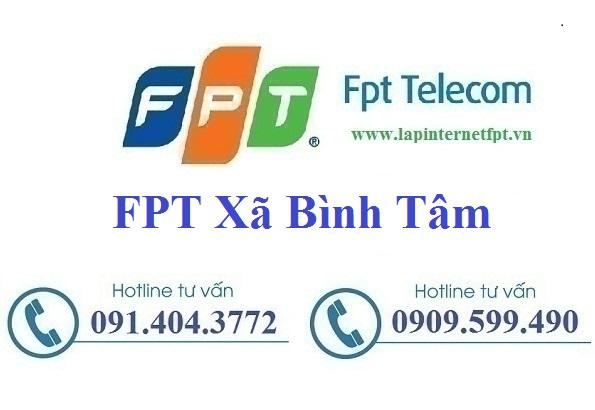 Đăng ký cáp quang FPT Xã Bình Tâm