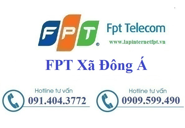 Đăng ký cáp quang FPT Xã Đông Á