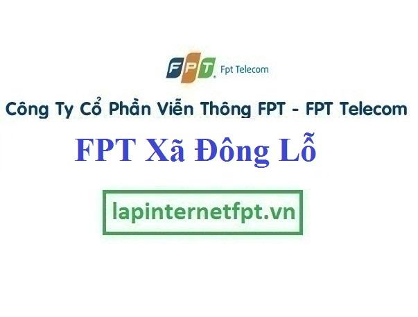 Lắp Đặt Mạng FPT Xã Đông Lỗ Huyện Ứng Hòa Hà Nội