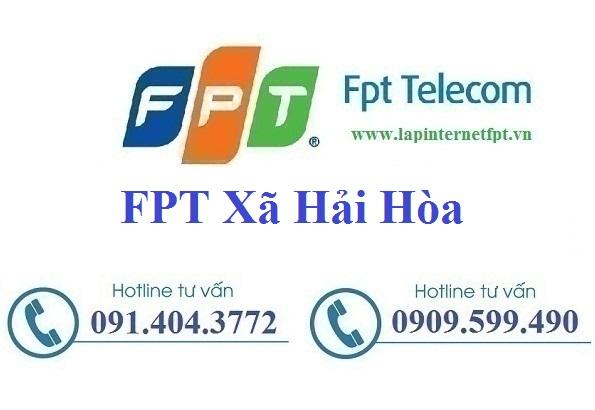 Đăng ký cáp quang FPT Xã Hải Hòa