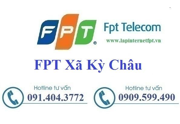 Đăng ký cáp quang FPT Xã Kỳ Châu