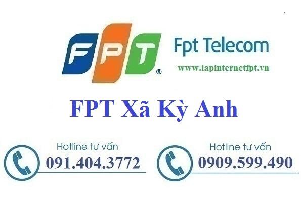 Đăng ký cáp quang FPT Xã Kỳ Hoa