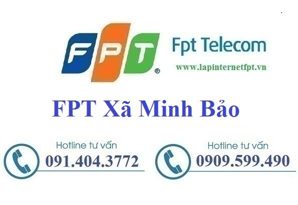 Đăng ký cáp quang FPT xã Minh Bảo