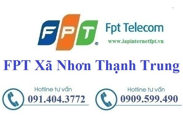 Đăng ký cáp quang FPT xã Nhơn Thạnh Trung