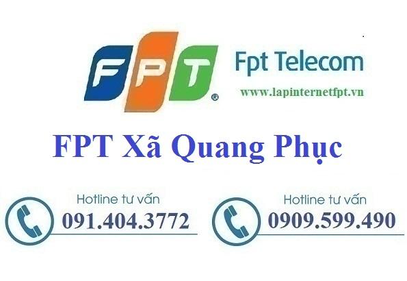 Lắp Đặt Mạng FPT Xã Quang Phục