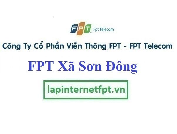 Lắp internet FPT Xã Sơn Đông thị xã Sơn Tây Hà Nội
